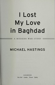 Cover of: I lost my love in Baghdad