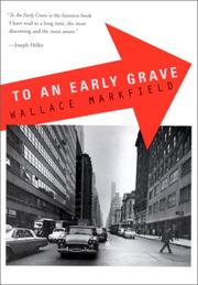 Cover of: To an early grave | Wallace Markfield