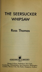 Cover of: The seersucker whipsaw