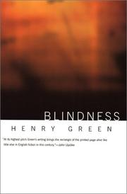 Cover of: Blindness