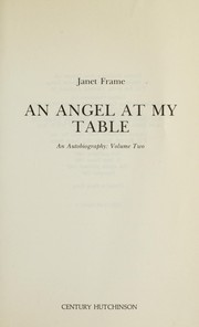 Cover of: An angel at my table