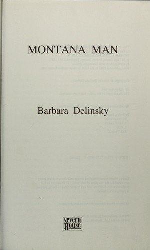 Montana man by Barbara Delinsky