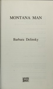 Cover of: Montana man | Barbara Delinsky