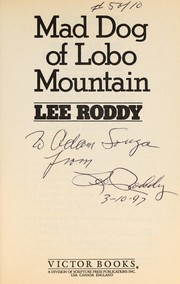 Cover of: Mad dog of Lobo Mountain