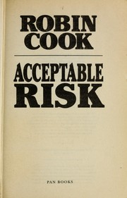 Cover of: Acceptable risk