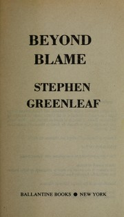 Cover of: Beyond blame