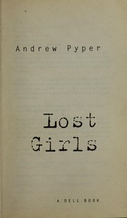 Cover of: Lost girls