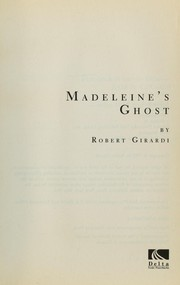 Cover of: Madeleine's ghost