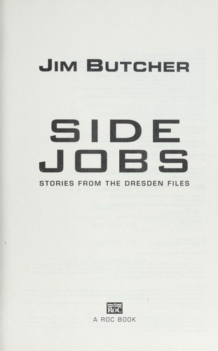 Side jobs : stories from the Dresden files by