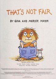 Cover of: That's not fair