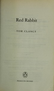 Cover of: Red rabbit | Tom Clancy