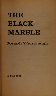Cover of: The black marble