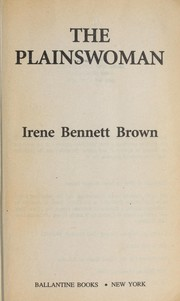 Cover of: The plainswoman