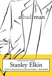 Cover of: A bad man