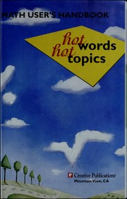 Cover of: Hot Words, Hot Topics (Mathscape) |