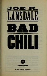 Cover of: Bad chili