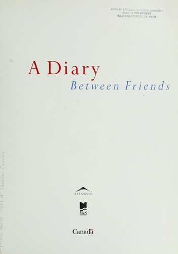 A diary between friends. by