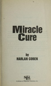 Cover of: Miracle cure | Harlan Coben
