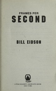 Cover of: Frames per second | Bill Eidson