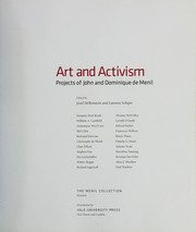 Cover of: Art and activism