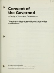 Cover of: Consent of the governed | Marcel Lewinski