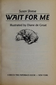 Cover of: Wait for me