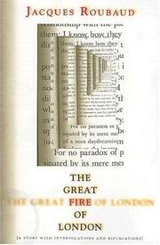Cover of: The Great Fire of London (French Literature Series)