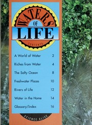 Cover of: Waters of life | Shortland Publications
