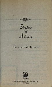 Cover of: Shadow of Ashland | Terence M. Green