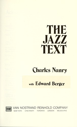 The jazz text by Charles Nanry
