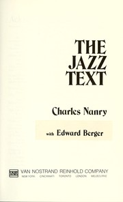 Cover of: The jazz text | Charles Nanry