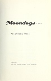Cover of: Moondogs