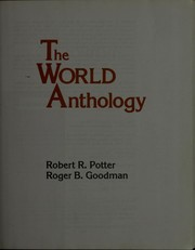 Cover of: The world anthology