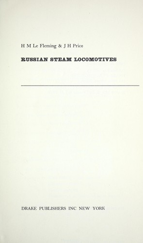 Russian steam locomotives by H. M. Le Fleming