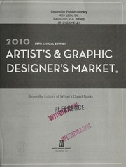Cover of: 2010 artist's & graphic designer's market | Writer's Digest Books (Firm)
