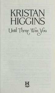 Cover of: Until there was you