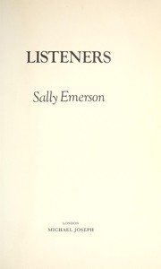 Cover of: Listeners | Sally Emerson