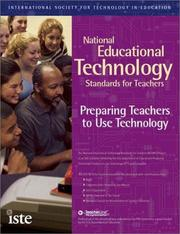 Cover of: National Educational Technology Standards for Teachers |