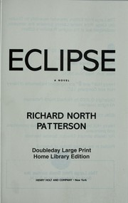 Cover of: Eclipse | Richard North Patterson