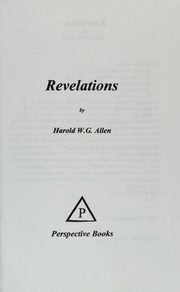 Cover of: Revelations | Harold W. G. Allen