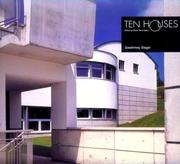 Cover of: Ten Houses | Gwathmey Siegel