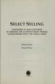 Cover of: Select selling