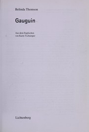 Cover of: Gauguin