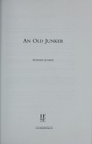 Cover of: An old Junker