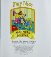 Cover of: Play nice