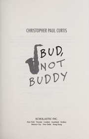 Cover of: Bud, not Buddy