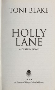 Cover of: Holly Lane