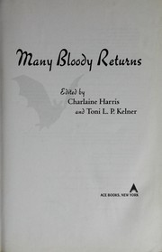 Cover of: Many bloody returns