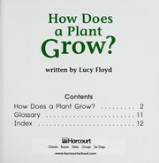 Cover of: How does a plant grow?
