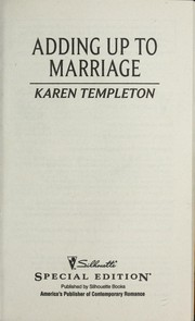 Cover of: Adding Up To Marriage